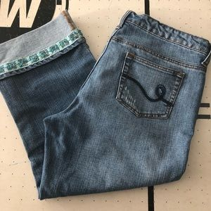 Apt 9 size 12 Capri Jeans